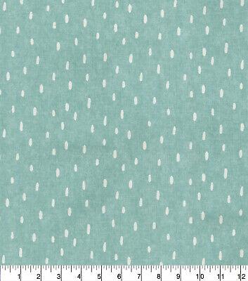Waverly Sprinkling Mist Cotton Print Drapery Upholstery