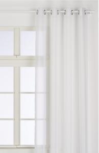 Voilage-Tissu-Chic-blanc-l-145-x-H-260-cm-Tamisant-pour-voir-sans-etre-vu