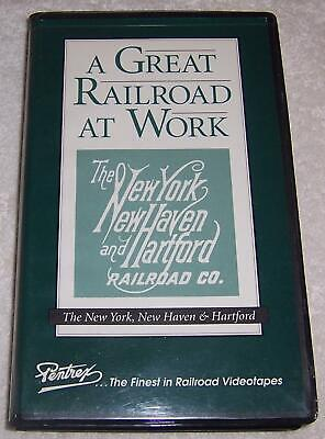 The Hartford At Work >> A Great Railroad At Work New York New Haven And Hartford Vhs Video Train Pentrex Ebay