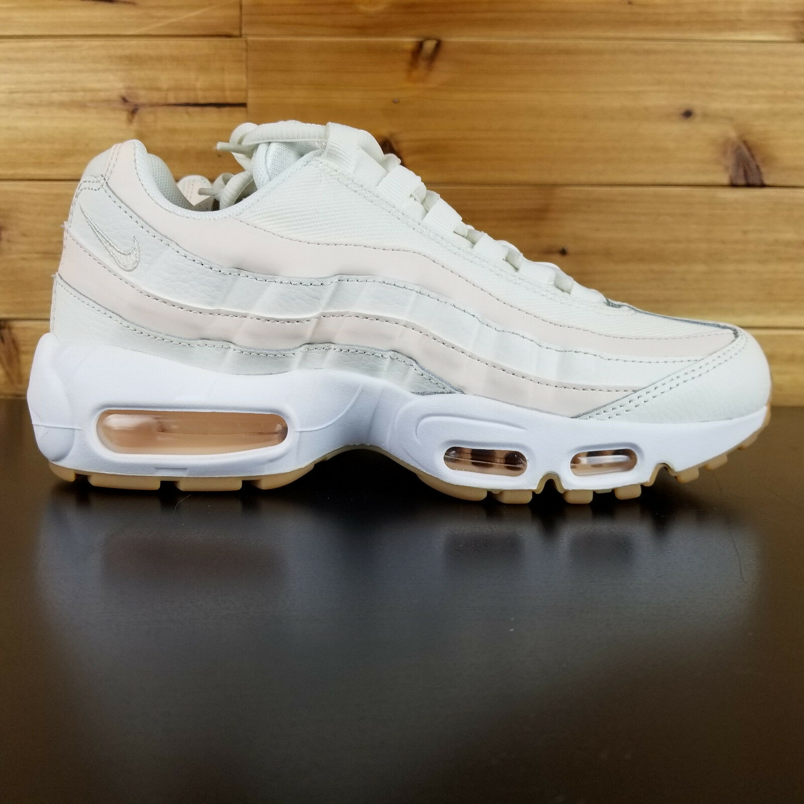 Nike Wmns Air Max 95 OG Women New Sail Guava Ice Lifestyle Sneakers 307960-111
