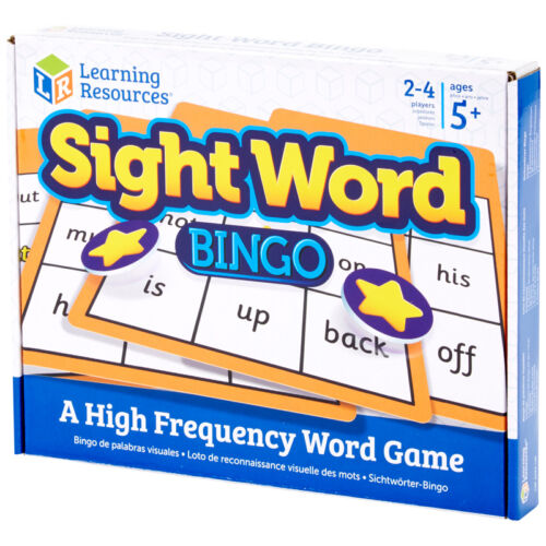 Learning Resources Sight Word Bingo NEW