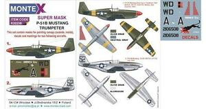 Montex-1-32-masks-decals-amp-markings-for-the-P-51B-Mustang-by-Trumpeter-k32258