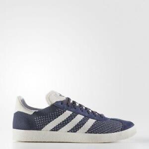 sports shoes 16820 f6c7d Image is loading Mens-Adidas-Gazelle-Primeknit-Nemesis-Off-White-Chalk-