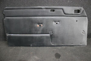 Mercedes Benz W114 Door Panel Front Left Coupe Black Chrome Door Board / 8