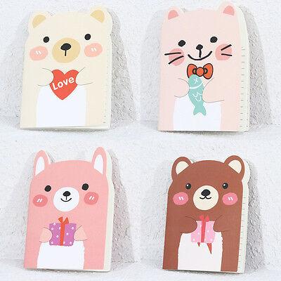 Cute Korean Kawaii Cartoon Animal Pocket Notebooks Notepad Memo Pad