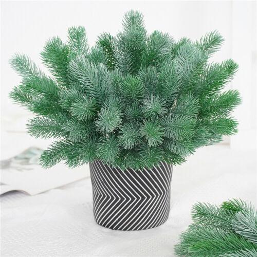 CG/_ 1Pc Artificial Plant Leaves Grass Garden DIY Christmas Garland Party Home De