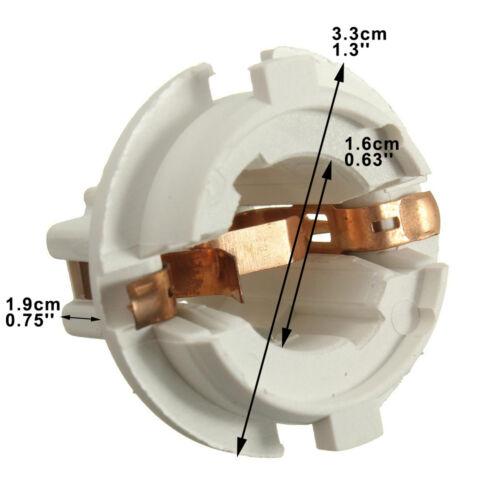 4pcs Rear Tail Light Lamp Socket Holder Fits BMW 7 Series X5 E53 E70 E65 X3 E83