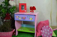 Table De Nuit Fille Princesse Rose Violet Chambre D'enfant Meuble Qualite