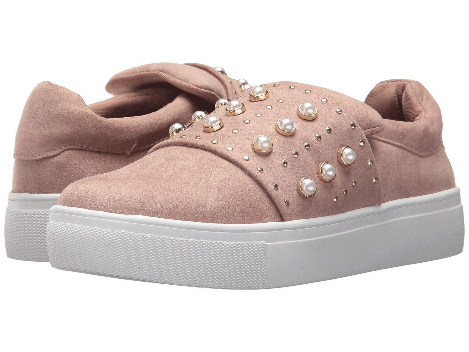 NIB Steve Madden Women's Deylin Studded Fashion Sneakers in Blush