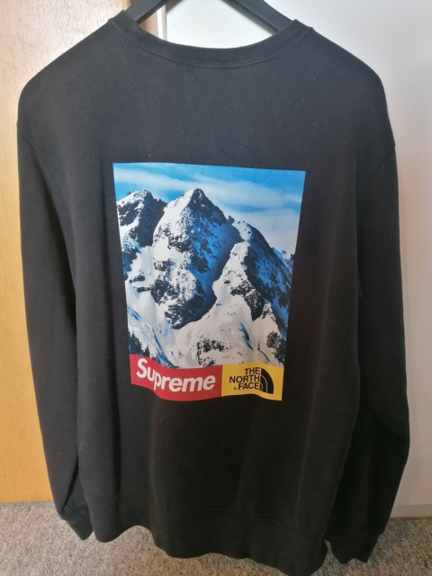 Sweatshirt, Supreme, str. M,  God men brugt, Supreme north…