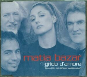 Matia-Bazar-Grido-D-039-Amore-4-Tracks-Cd-Eccellente