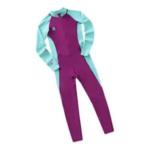 Children-Long-Sleeve-Swimsuit-Sun-Protective-Swimwear-Diving-Zip-Wetsuits
