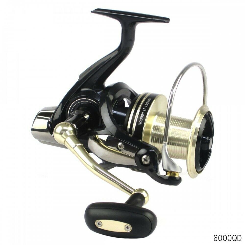 Daiwa Spinning Reel 17 Wind Cast 6000 QD For fishing From Japan
