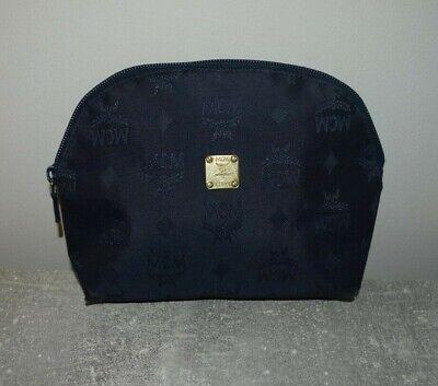 Original MCM Kosmetiktasche Kulturtasche Vintage Blau Visetos *Guter Zustand*   eBay
