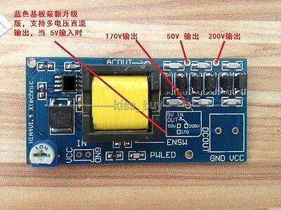 High Voltage DC-DC Boost Converter 5V-12V 9v Step up to 300V-1200V Power Module