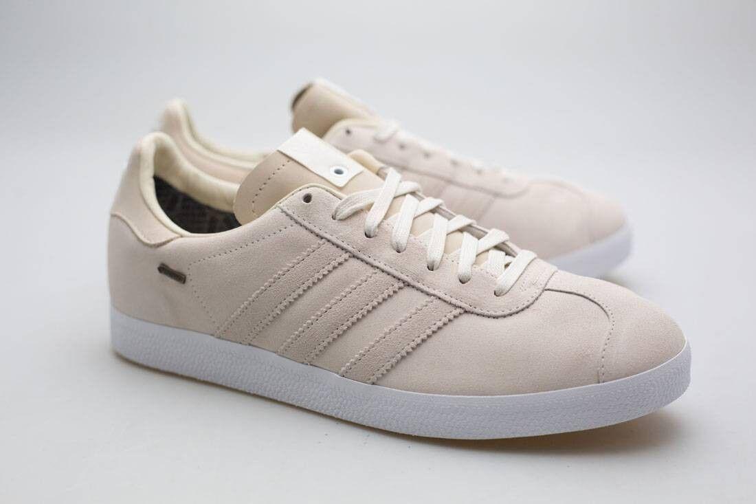 Adidas Consortium x Saint Alfred uomo Gazelle OG GTX white off white chalk white Scarpe classiche da uomo