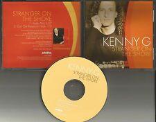 KENNY G Stranger on the Shore w/ RARE RADIO MIX PROMO DJ CD single 1999 USA MINT