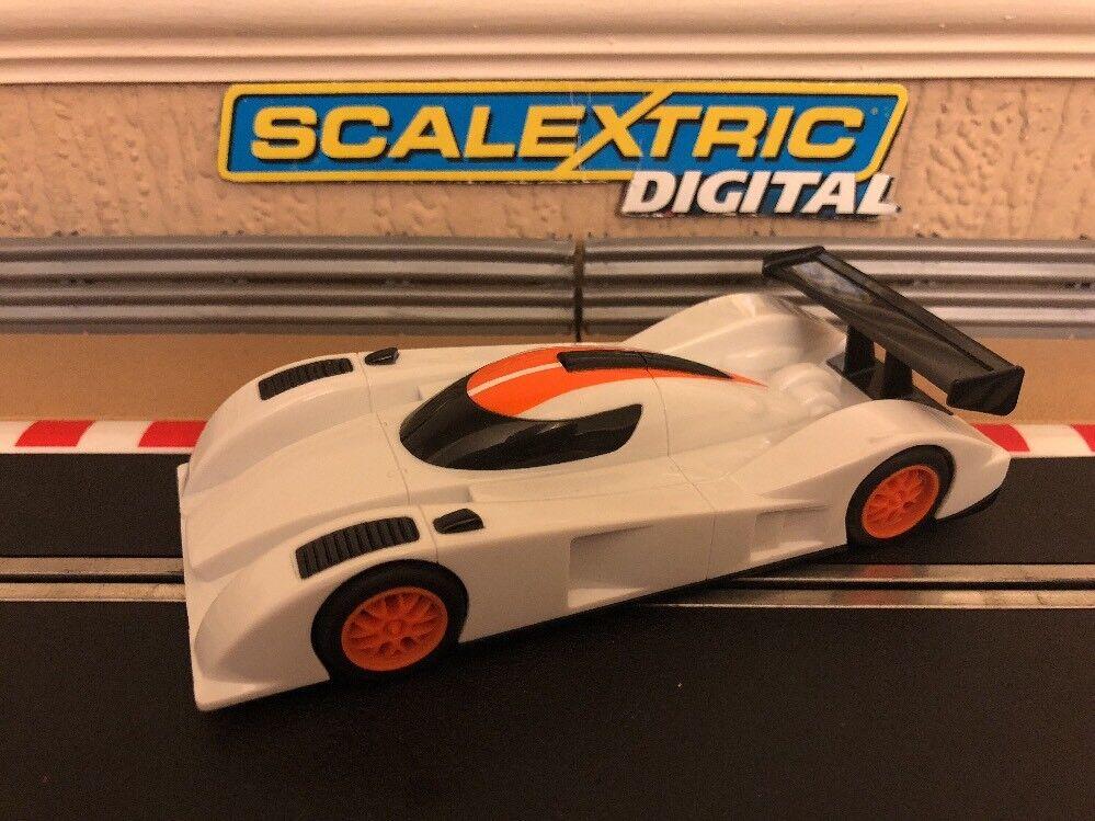 Scalextric Digital Le Mans Team LMP White Brand New