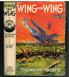 Wing-For-Wing-byThomson-Burtis-1932-Vintage-Book