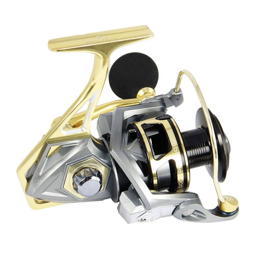 AnglerDream Bumblebee Fishing Reels 10BB 5.2 1 Ratio Spinning Reel Saltwater...
