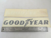 Two Medium Goodyear Tires Windshield Vinyl Sticker Decal 12.5 X 2.5