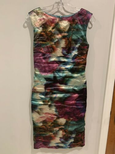 Nicole miller Abstract Dress 4