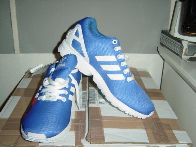 Adidas ZX blau/weiss FLUX W Sneaker in blau/weiss ZX in der Gr.40 871906