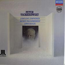 """PETER TSCHAIKOWSKY - LORIN MAAZEL  12"""" 5 LP BOX  (R245)"""
