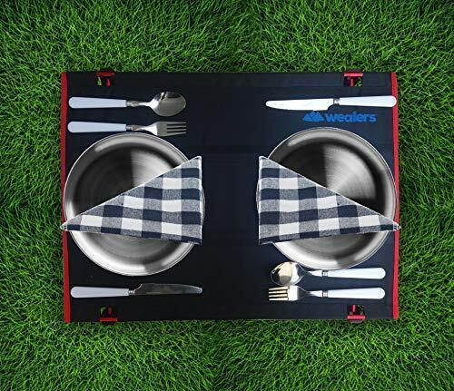 Cutlery Organizer Utensil Set Picnic Camping Kit with Storage Bag Travel Case