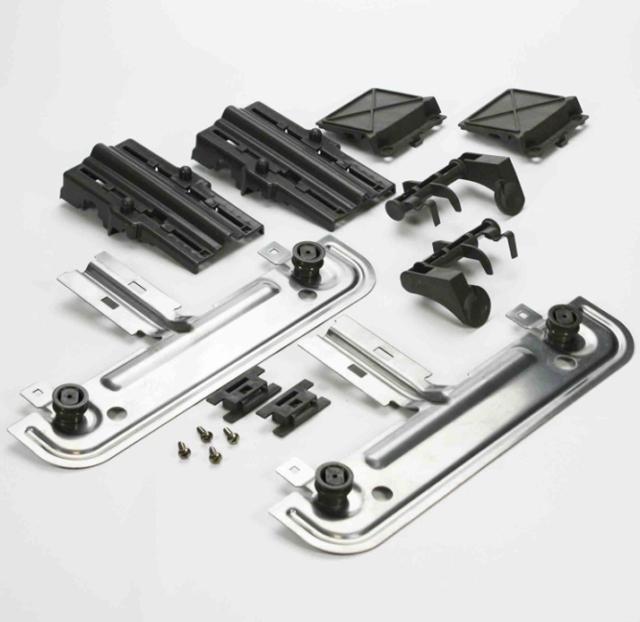 Dishwasher Top Rack Adjuster Kit Upper Unit Whirlpool Kenmore Sears W10712394