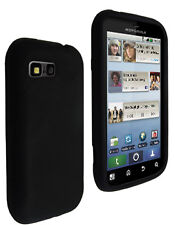 Housse silicone noire Motorola Defy