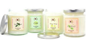 Aromatherapy Candles | Natural Soy Wax Candle | Essential Oils | Spa Candle