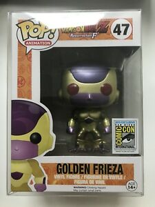 Funko Pop Animation Dragon Ball Z Golden Frieza 47 Red Eyes Sdcc