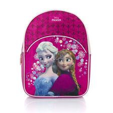 Frozen Eiskönigin Rucksack Tasche Kinderrucksack Anna & Elsa fuchsia glänzend