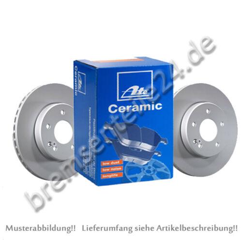 CERAMIC Beläge vorne Ø 330 mm belüftet beschichtet  BMW ATE Bremsscheiben