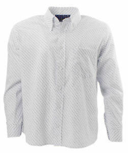 In Tootal Down Button White amp; Collar Dot With Paisley Print Shirt zrzB0wq