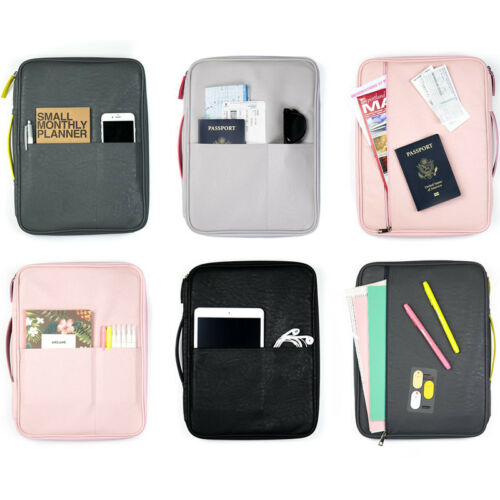 Better Together Leather Pouch Multi-functional Zipper Tote Case Bag Organizer
