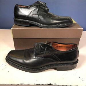 Johnston & Murphy Apron Front Square Toe Derby Oxford Shoes Men's Size 10.5 M