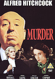 Murder! DVD (2007) Herbert Marshall, Hitchcock (DIR) cert PG Fast and FREE P & P