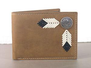 Buffalo-Nickel-Western-Bifold-Wallet-Billfold-Bi-fold