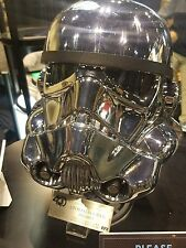 EFX Star Wars Chrome Stormtrooper Helmet Celebration 2017 Exclusive LE 500 40th