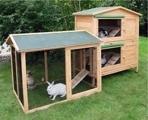 hasenstall kaninchenstall freigehege hasen kaninchen ebay. Black Bedroom Furniture Sets. Home Design Ideas