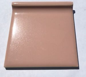 Details about Wild Rose/Pink 4x4 Vintage Ceramic Cove Base Tile Unmarked  -per piece- Surplus