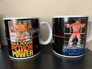 WWE Ultimate Warrior Heat Activated Mug