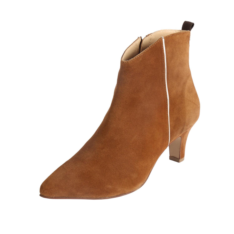 Bugatti 412-68530-3449 Tiana-zapatos señora botines - 6351-Cognac-oro