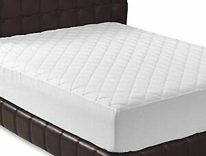 Quilted Ed Mattress Pad Queen Cover Stretches Deep Topper By Utopia Bedding