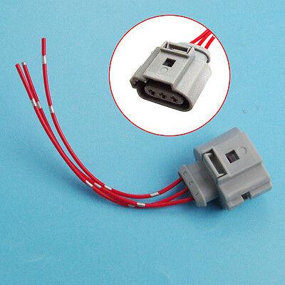 Qty1 3-Pin Crank Sensor Pigtail Plug 1J0973723G for AUDI A4