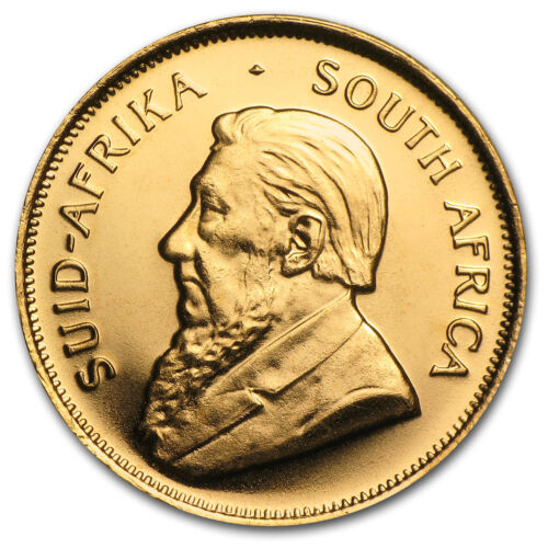 Random Year 1//10 oz Gold South African Krugerrand Coin