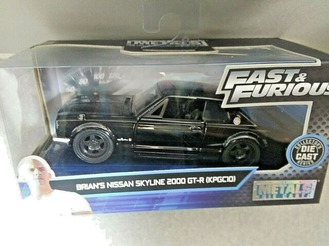 Fast & Furious Brian's Nissan Skyline 2000 GT-R (KPGC10) Collectors 1:32 Scale
