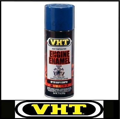 VHT ENGINE ENAMEL SPRAY PAINT FORD COMPETITION BLUE VHTSP755 CLEVELAND WINDSOR